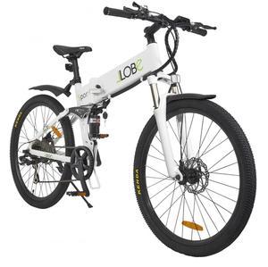 LLobe E-Bike MTB-Sport weiß, faltbar