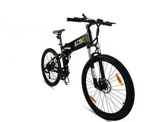 LLobe E-Bike MTB-Sport schwarz, faltbar