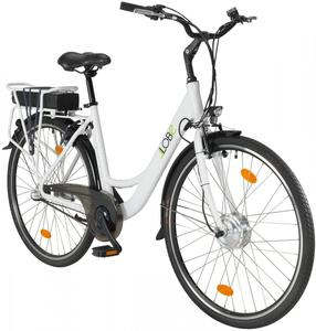 LLobe City-E-Bike Blanche Deux