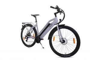 LLobe Voga Bianco Alu Elektro Trekking- Bike 27,5 Zoll 21 Gang Shimano-Altus-Kettenschaltung