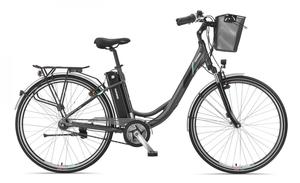 Telefunken Damen City E-Bike RC765 Multitalent mit 7-Gang Shimano Nexus Nabenschaltung
