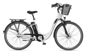 Telefunken Damen City E-Bike RC746 Multitalent mit 3-Gang Shimano Nexus Nabenschaltung