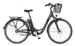 Telefunken Damen City E-Bike RC745 Multitalent mit 3-Gang Shimano Kettenschaltung
