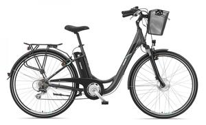 Telefunken Damen City E-Bike RC736 Multitalent mit 7-Gang Shimano Kettenschaltung