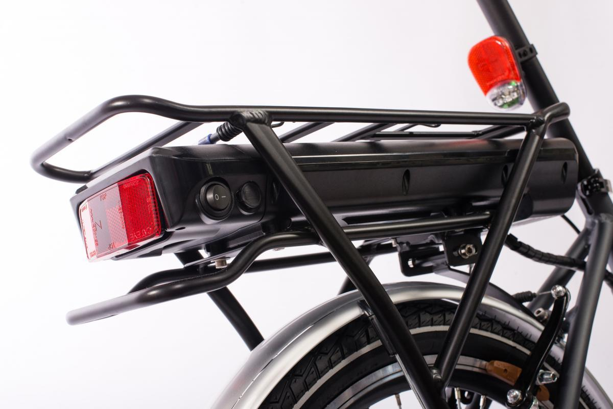 Bild 4 von Telefunken E-Bike F800, Faltrad mit 7 Gang Kettenschaltung
