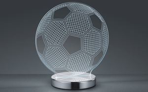 Reality Leuchten - LED-Tischleuchte Ball in chromfarbig