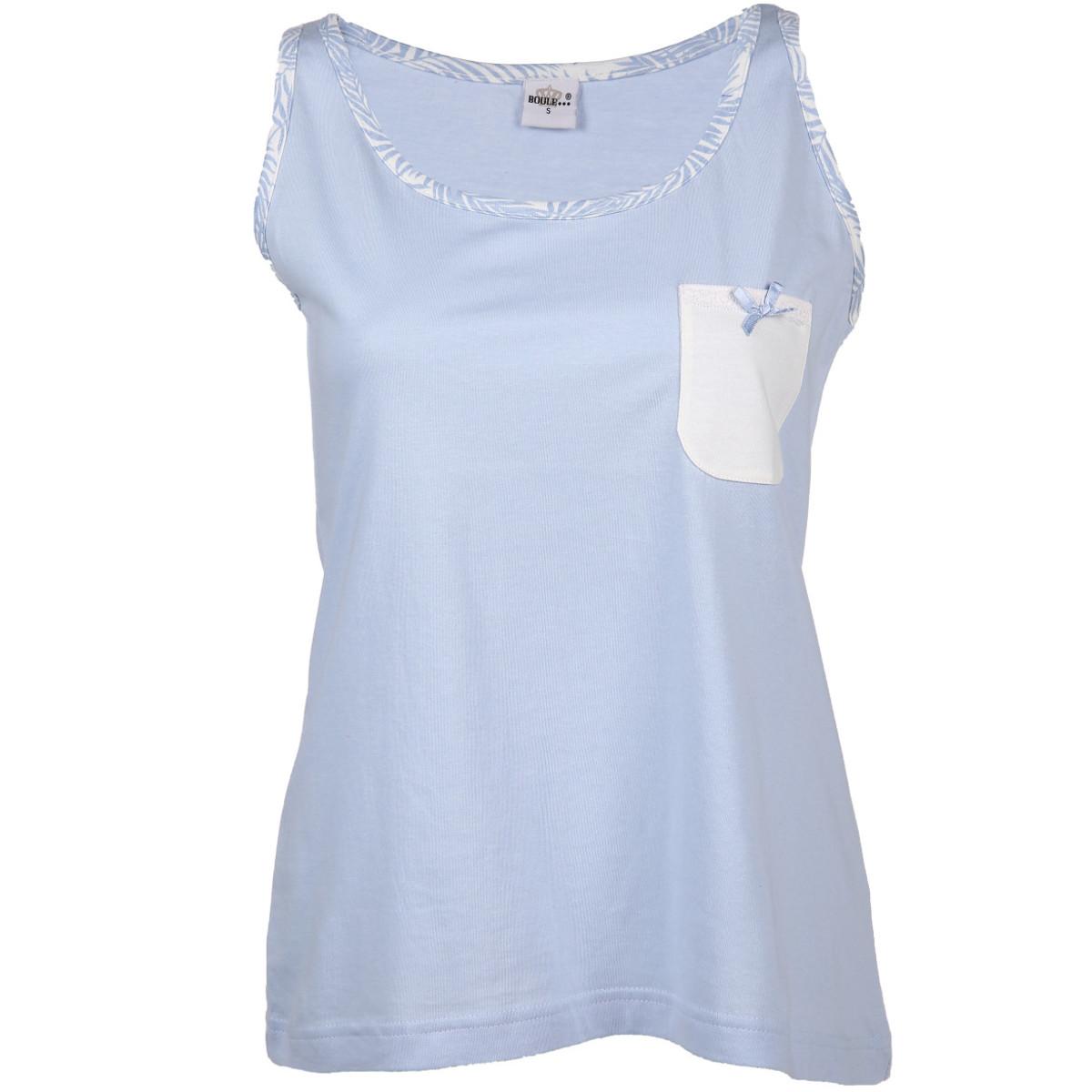 Bild 1 von Damen Schlaftop mit Brusttasche
