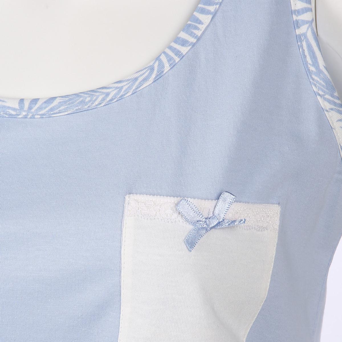 Bild 3 von Damen Schlaftop mit Brusttasche