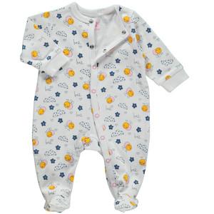 Baby Mädchen Pyjama mit Füßchen