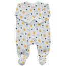 Bild 2 von Baby Mädchen Pyjama mit Füßchen