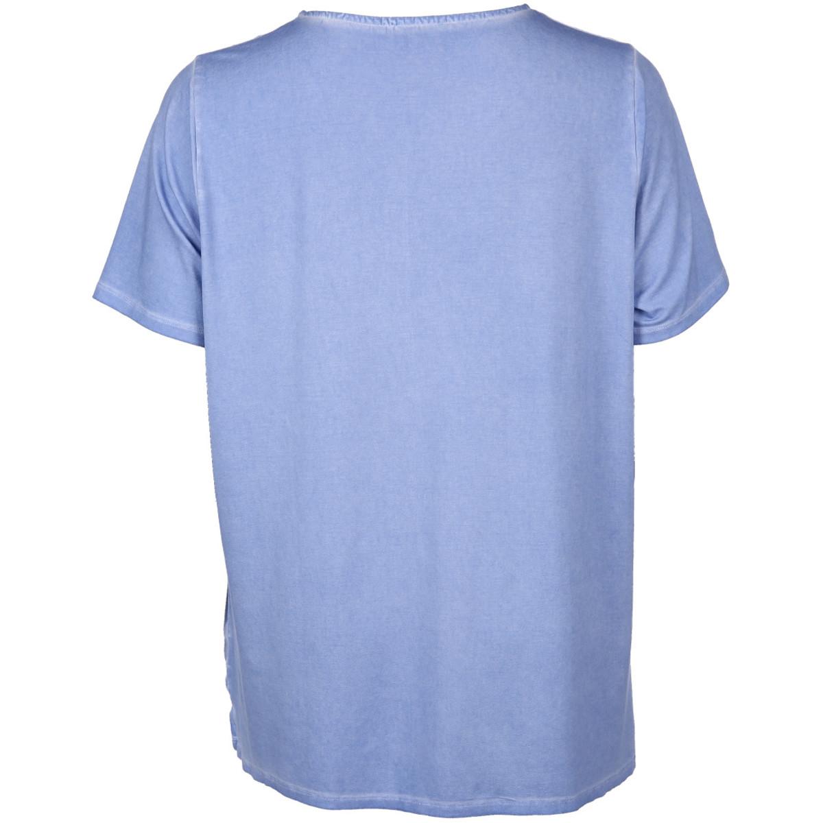 Bild 2 von Große Größen Shirt mit Ziernieten