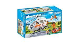 PLAYMOBIL 70048 - City Life - Rettungshelikopter