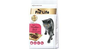 Pro Life Katzentrockenfutter In-Home mit Voralpen-Rind
