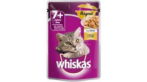 Whiskas® Katzennassfutter 7+ Ragout mit Geflügel in Gelee
