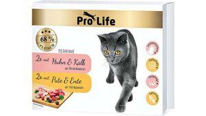 Pro Life Katze Katzennassfutter - Terrine Multipack