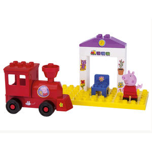 BIG PlayBIG Bloxx Peppa Train Stop, 800057072