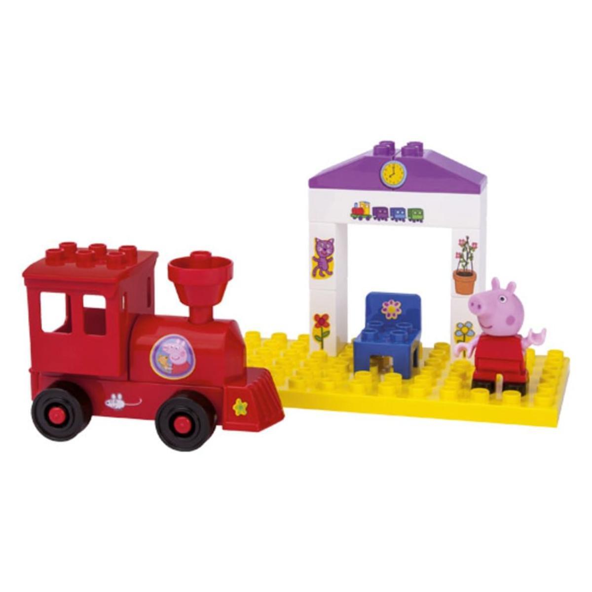 Bild 2 von BIG PlayBIG Bloxx Peppa Train Stop, 800057072