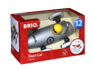BRIO Sonderedition Rennwagen silber-metallic; 30344