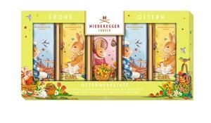 Niederegger - Marzipanbrote Ostern, Gefüllte Zartbitter-Schokolade mit Marzipan