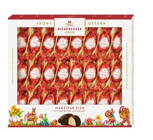 Niederegger - Marzipan - Pralinen mit Zartbitter-Schokolade Marzipanfüllung 72 %; 540 g