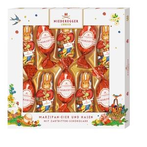Niederegger Marzipan-Osterhasen und Eier, 1er Pack (1 x 147 g)