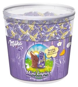 Milka Mini Lapins - Mini-Schmunzelhasen - 1505 g