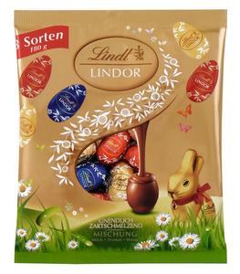 Lindt Lindor Mini-Eier Beutel-Mischung 180 g