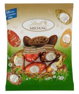 Lindt Spezialitäten-Eier Mischbeutel 180 g