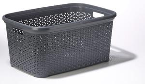 Real Quality Wäschekorb Rattanoptik