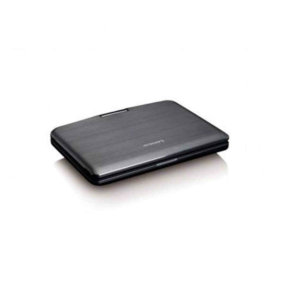 Bild 2 von Lenco DVP-1010 tragbarer DVD-Player 10 Zoll (25,5 cm) mit hoher Auflösung (1.024 x 600) drehbarem Display und integriertem Akku (USB, SD, AV), Netzadapter, Kopfhörer