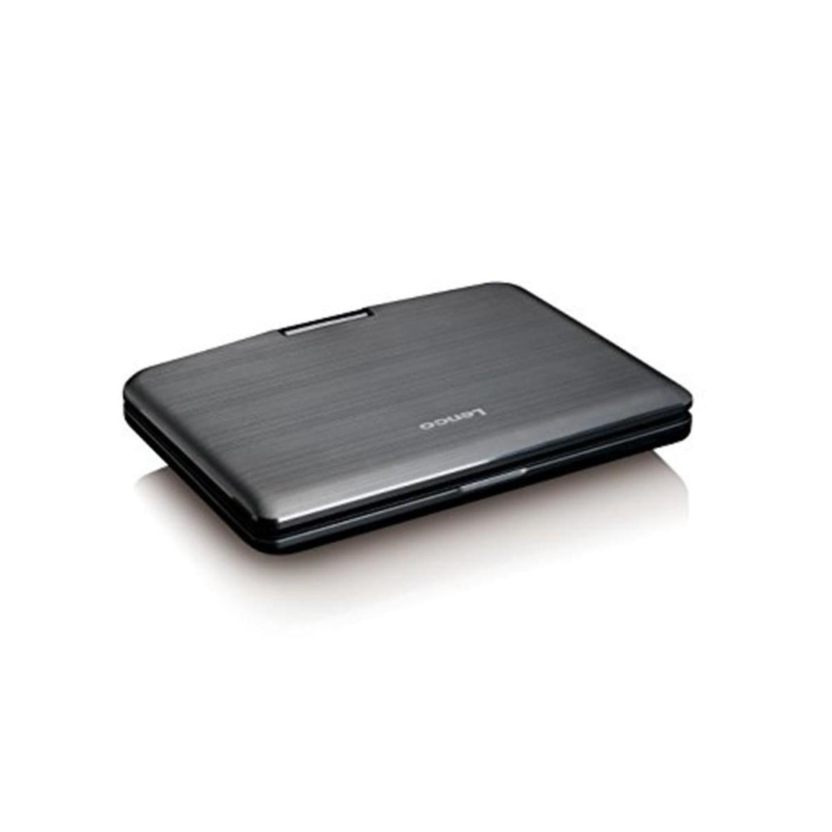 Bild 4 von Lenco DVP-1010 tragbarer DVD-Player 10 Zoll (25,5 cm) mit hoher Auflösung (1.024 x 600) drehbarem Display und integriertem Akku (USB, SD, AV), Netzadapter, Kopfhörer
