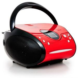 Lenco SCD-24, FM, Spieler, CD, LCD, Wechselstrom/Batterie, 230 V