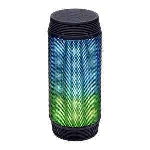 Bluetooth Lautsprecher BS 1008L | LED-Lichtershow | 2 x 3 Watt | Bluetooth 2.1 Lautsprecher | Ladezeit ca. 5 - 6 Stunden | Wiedergabedauer ca. 4 - 6 Stunden