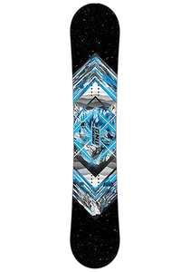 GNU Gnuru Asym MidWide 158cm - Snowboard für Herren - Schwarz