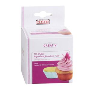 Kaiser Muffin-Papierbackförmchen 150 Stück in Bunt