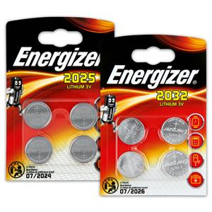 Energizer Knopfzellen