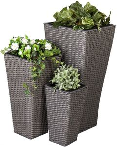 Pflanzenkübel - aus Kunststoff - verschiedene Größen