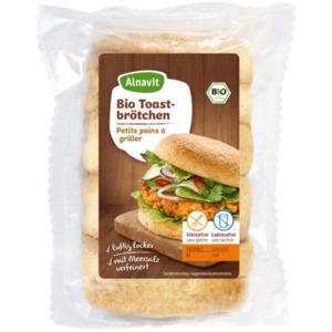 Alnavit Bio Toastbrötchen glutenfrei 260g