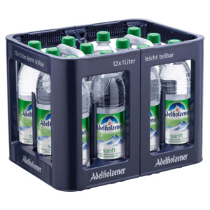 Adelholzener Mineralwasser Sanft 12x1l