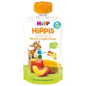 Hipp Hippis Pfirsich in Apfel-Mango 100g