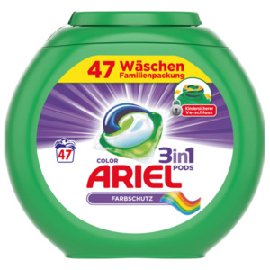 Ariel Color Waschmittel 3in1 Pods 1,269kg, 47WL