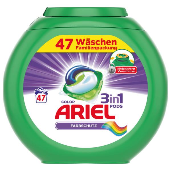 Ariel Color Waschmittel 3in1 Pods 1,269kg, 47WL