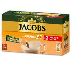 JACOBS Sticks Caramel 3 in 1