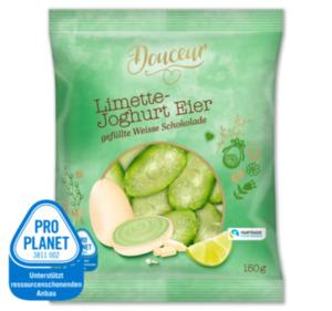 DOUCEUR Limette-Joghurt Eier