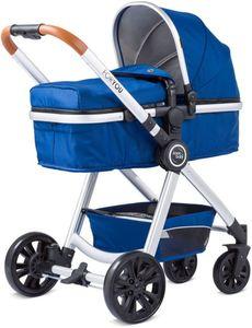 Kombikinderwagen For You von Knorr - Farbe: blau-silber