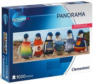 Panorama Puzzle - Pinguin Pullis - 1000 Teile - Galileo Big Pictures