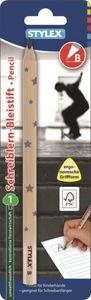 1 Schreiblern-Bleistift B - Stylex