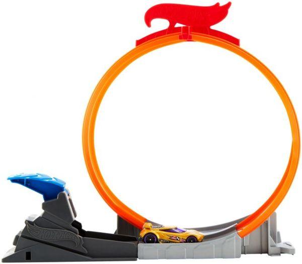 Hot Wheels Rennbahn Erweiterung - Classic Stunt Set - 1 Stück