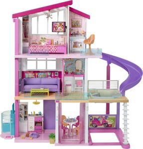 Barbie Traumvilla - Dreistöckige Villa mit acht Zimmern