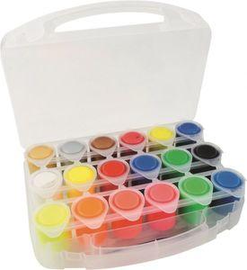 18 Schulmalfarben à 25 ml - im Koffer - Stylex